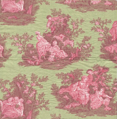 Country Toile - grün